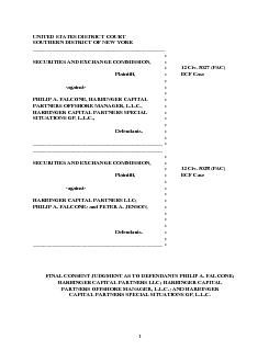 UNITED STATES DISTRICT COURT SOUTHERN DISTRICT OF NEW YORK         : G