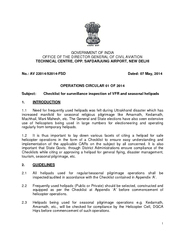 1 GOVERNMENT OF INDIA OFFICE OF THE DIRECTOR GENERAL OF CIVIL AVIATION
