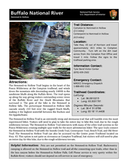 Attractions: The HemmedHollow Trail begins in the heart of the Ponca W PowerPoint PPT Presentation