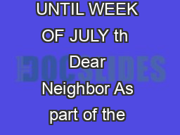 Town of Canton Automated Curbside Recycling Trash Guide DO NOT USE NEW CARTS UNTIL WEEK OF JULY th  Dear Neighbor As part of the new recyclingtrash program you will be receiving two carts to be used i