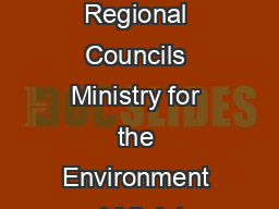 onterra Cooperative Group Regional Councils Ministry for the Environment and Ministry of Agriculture and Forestry