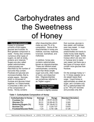 National Honey Board     (303) 776-2337      www.nhb.org      Page1/4