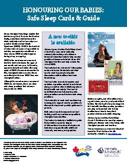 Honouring Our Babies: Safe Sleep Cards & Guide is an initiative of the