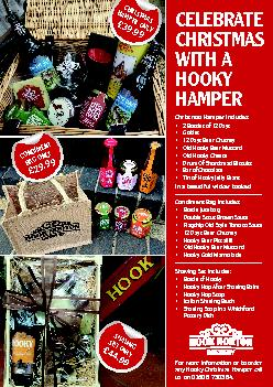 CELEBRATE CHRISTMAS WITH A HOOKY Christmas Hamper includes:Bottles12Da