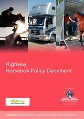HighwayHorsebox Policy Document