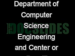 The Logic of the er nary Sentential Connecti IfThenElse illiam Rapaport Department of Computer Science Engineering and Center or Cogniti Science State Uni ersity of New ork at Buffalo Buffalo NY  rapa PowerPoint PPT Presentation