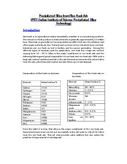 silica from rice husk pdf