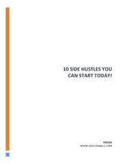 10 SIDE HUSTLES YOU