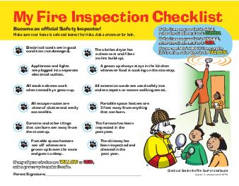 Home Fire Safety Checklist First Base  Cooking Safety  Yes  No Does a grownup always stay in the kitchen when food is cooking on the stove  Yes  No Are stove tops and counters clean and uncluttered  Y