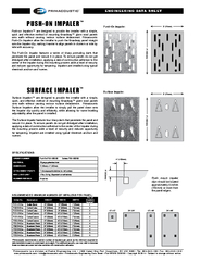 Surface Impalers™ are designed to provide the installer with a