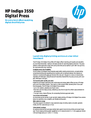 Launch into digital printing services at a low initial investmentThe H