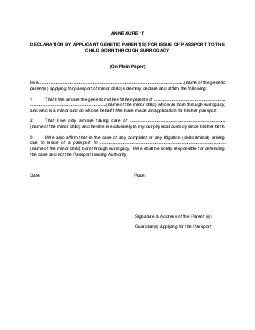 AFFIDAVIT To be executed on appropriate non judicial stamp paper of minimum value and attested by Executive Magistrate or Notary Public One original and one self attested photocopy to be submitted QD