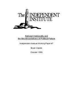 Rational Irrationality and  the Microfoundations of Political Failure