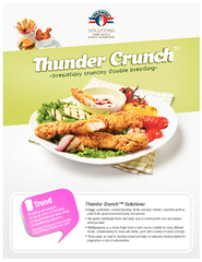 -Irresistibly crunchy double breading-