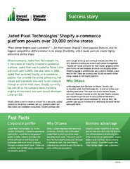Jaded Pixel Technologies' Shopify e-commerce Ottawa company, Jade PowerPoint PPT Presentation