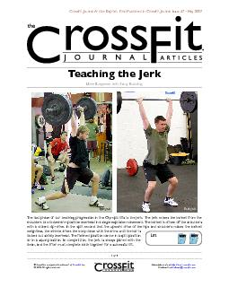 Our previous articles on the snatch and the clean discussed the concep