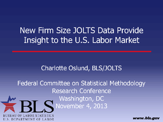 New Firm Size JOLTS Data Provide