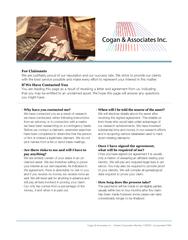 Cogan & Associates Inc. - Ontario Corporation Number 1105291, Incorpor
