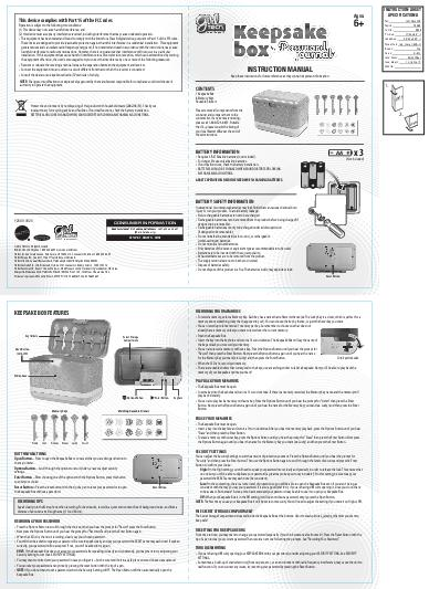 INSTRUCTION MANUAL PowerPoint PPT Presentation
