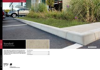 BS Standard Concrete Kerb
