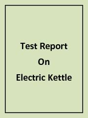 Electric Kettle PowerPoint PPT Presentation