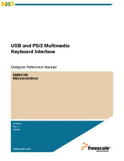 USB and PS/2 Multimedia Keyboard Interface, Rev. 1.0