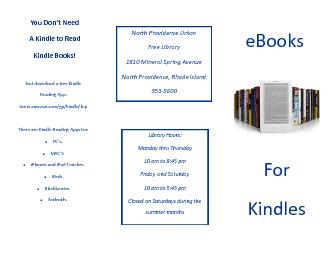 Just download a free Kindle