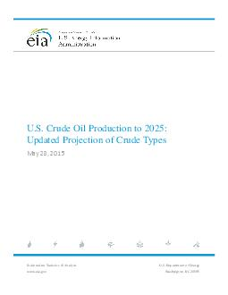 US Crude Oil Production Forecast Analysis of Crude Types    In dependent Statistics  Analysis                          Contents                                                     Tables     Figures