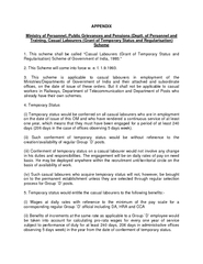 Ministry of Finance (Department of Expenditure)  OM No. F. 8 (2)