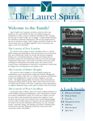three new facilities to the Laurels Family.