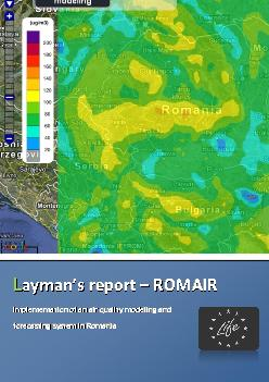 Air quality in Romania and EU background behind ROMAIR……