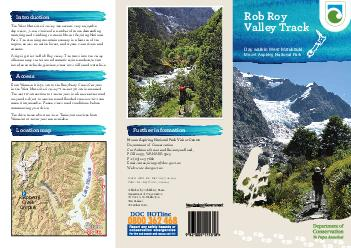 Further information Mount Aspiring National Park Visitor Centre Department of Conservation Cnr Ardmore Street and Ballantyne Road PO Box  WANAKA  Ph    Email mtaspiringvcdoc
