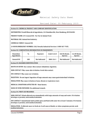 Linseed Oil MSDS Page 2