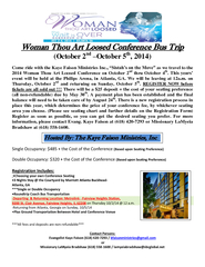 Woman Thou Art Loosed Conference PowerPoint PPT Presentation