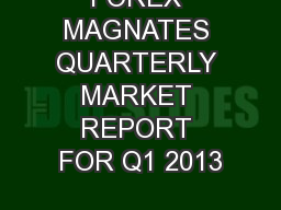 Forex magnates q3 2017 quarterly industry report
