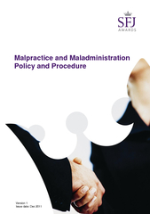 Malpractice and Maladministration