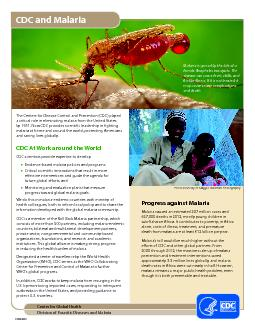 Center for Global HealthDivision of Parasitic Diseases and Malaria ...