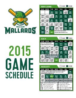 AWAY*June 29 is a double header.All game times are listed in CST.KZOKZ