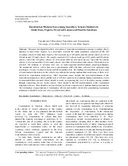 American-Eurasian Journal of Scientific Research 5 (1): 67-75, 2010ISS