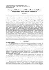 IOSR Journal of Business and Management (IOSR