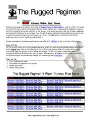 The Rugged Regimen