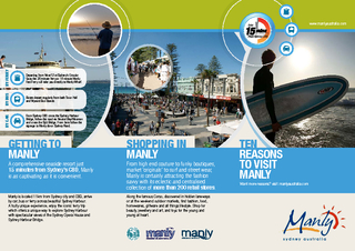 Manly is located 11km from Sydney city and CBD, arrive by car, bus or