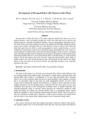International Journal of Advanced Science and Te
