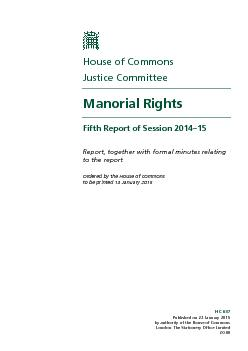 HC 657Published on 22 January 2015by authority of the House of Commons