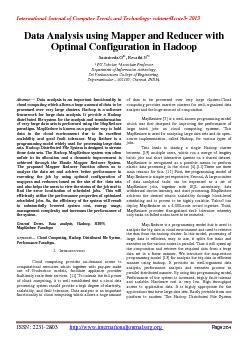 International Journal of Computer Trends and Technology