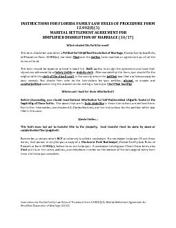 INSTRUCTIONS FOR FLORIDA FAMILY LAW RULES OF PROCEDURE FORM 12.902(f)(