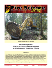 Fire Science Brief                   Issue 47                   May 20