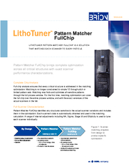 Pattern Matcher FullChipto all 1D patterns PowerPoint PPT Presentation