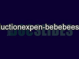 ally.troductionexpen-bebebeespecially PDF document - DocSlides