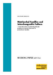 REFERENCES Hanson, S. M. H. (eds.) Fatherhood and Families in Cultural PDF document - DocSlides